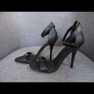Mossimo Black Strappy Heels